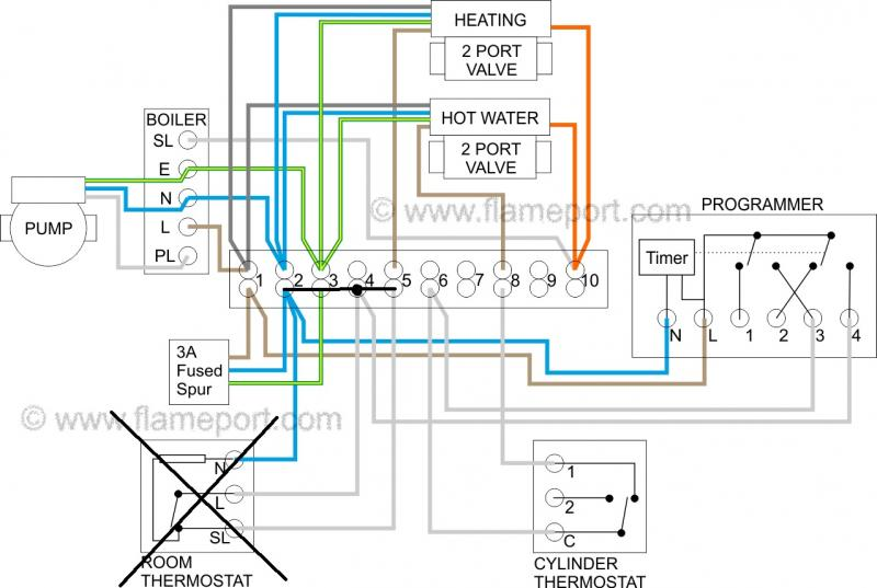 hot water tank wiring diagram squid internal anatomy replacing thermostat and controller with wireless | diynot forums