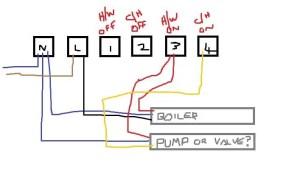 Wiring confusing of RWB2 timer | DIYnot Forums