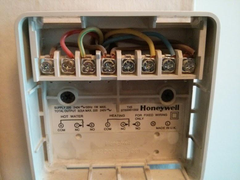 Central Heating Control Wiring Connection Centre