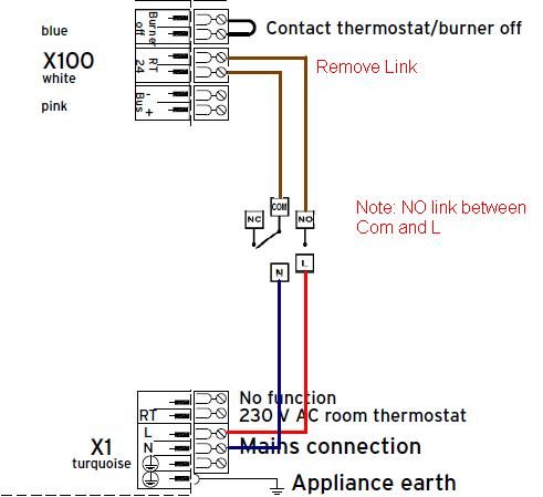 Vaillant E O Plus 837 And Horseman Wireless Thermostat DIYnot Forums