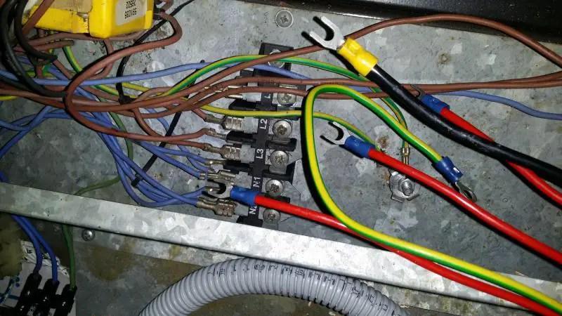 Defy Stove Wiring Diagram