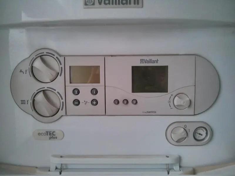 My Vaillant Ecotec Plus boiler wont switch on  DIYnot