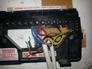 Replacing Potterton controller with Honywell ST9400C