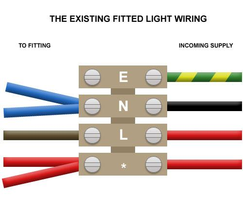 pir motion sensor wiring diagram roller garage door fitting a new external floodlight | diynot forums