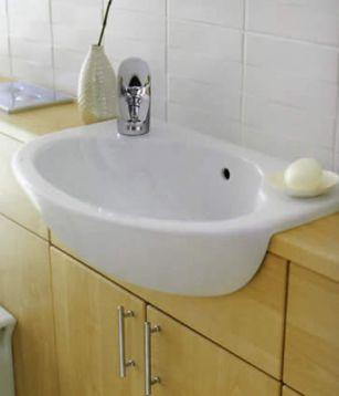 Fitting SemiRecessed Sink onto Slimline Vanity Unit  DIYnot Forums