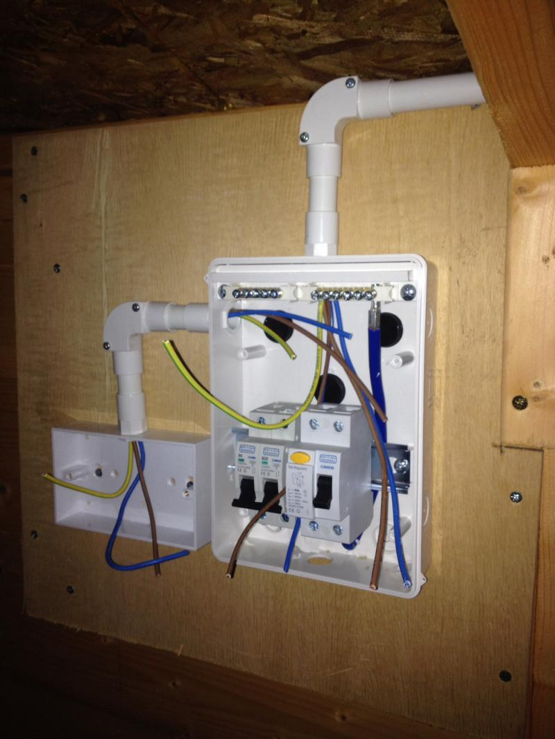 Wiring A Consumer Unit In Shed