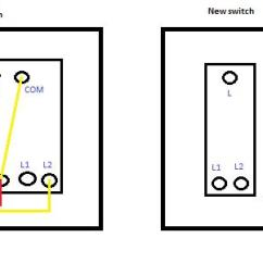 2 Gang Way Light Switch Wiring Diagram 2000 Jeep Cherokee Sport Window Double Lightswitch | Diynot Forums