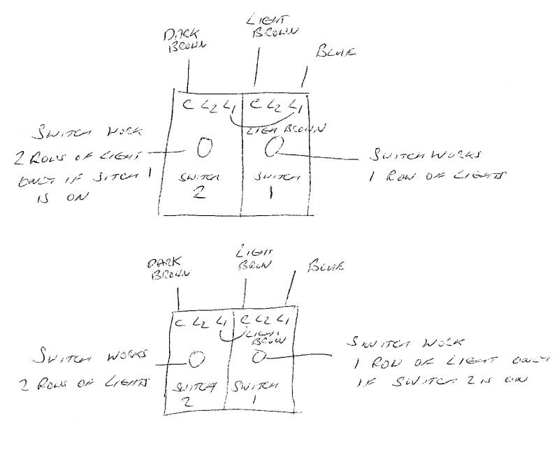 2 gang dimmer switch wiring diagram uk hand off auto selector two diynot forums c dark brown l1 link from 1 l2 unused this way works only if is on below may help