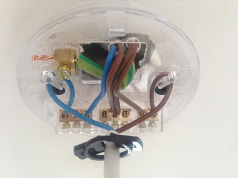 can light wiring diagram high school basketball court ceiling rose | diynot forums