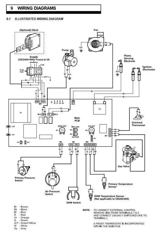 weil mclain gas boiler wiring diagrams