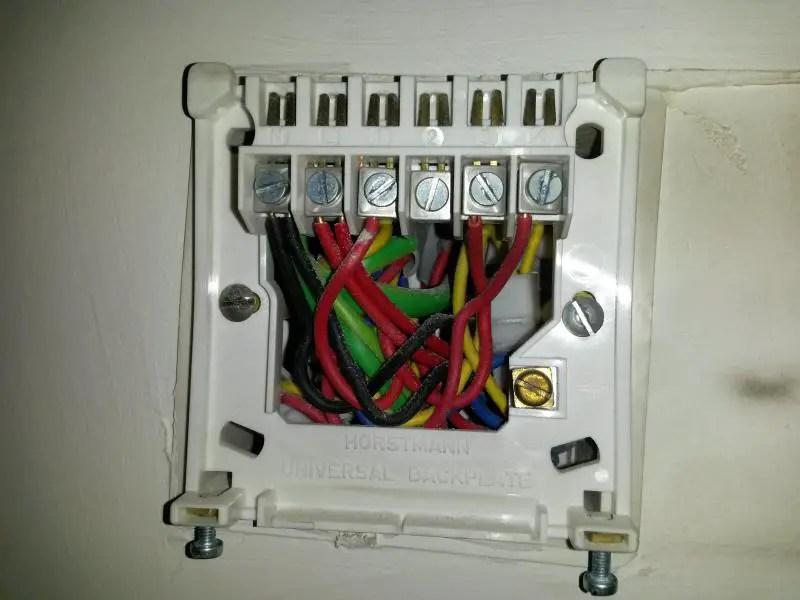 Honeywell Room Thermostat Wiring