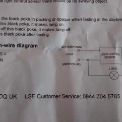 Connection Wiring Diagram 1999 Jeep Grand Cherokee Infinity Stereo Help Photocell Dusk To Dawn Sensor Flash Light | Diynot Forums