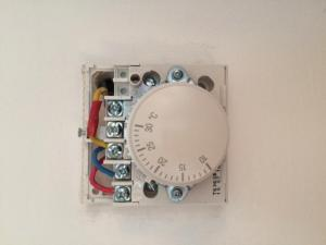 wiring honeywell t63604360 central heating thermostat