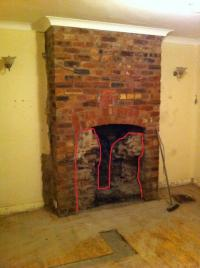 Restoring an exposed brick fireplace | DIYnot Forums