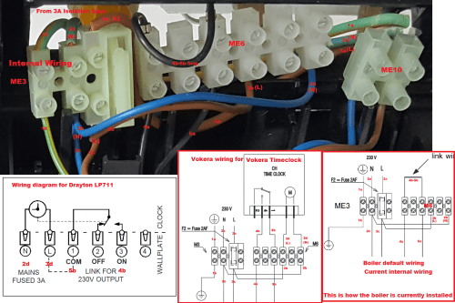 small resolution of boiler wiring help wanted please vokera linea 28he to drayton n connects to 2b