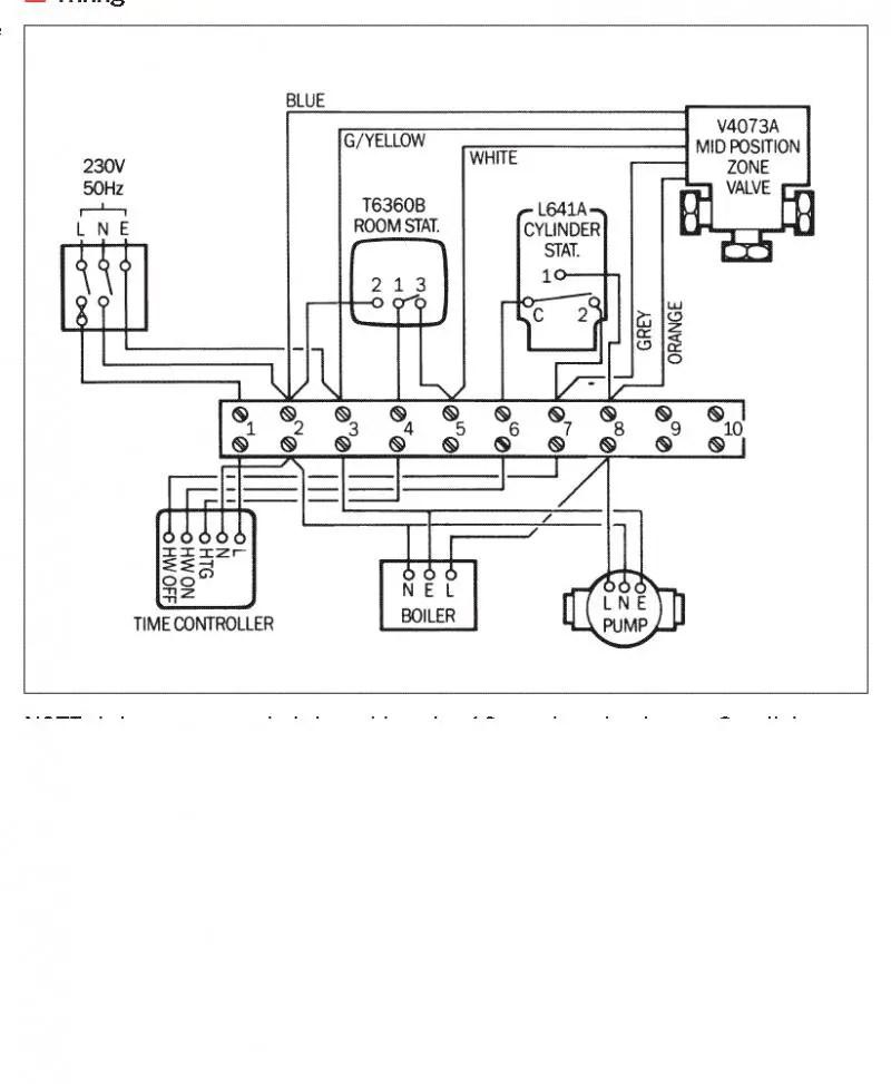 honeywell 3 port valve wiring diagram Honeywell V4043 Wiring Diagram honeywell 28mm 2 port valve wiring diagram wiring diagrams honeywell v4043 wiring diagram