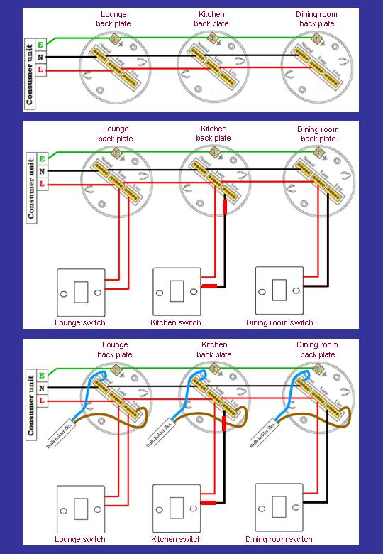 Ceiling Light Rose Wiring Diagram