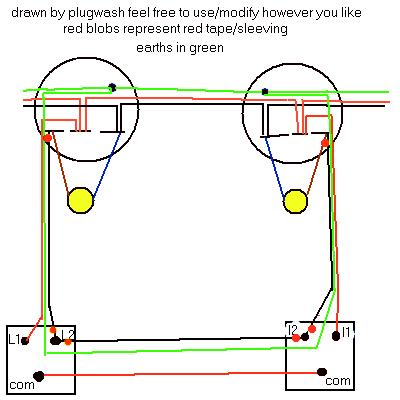 wiring diagrams lighting circuits, Wiring diagram