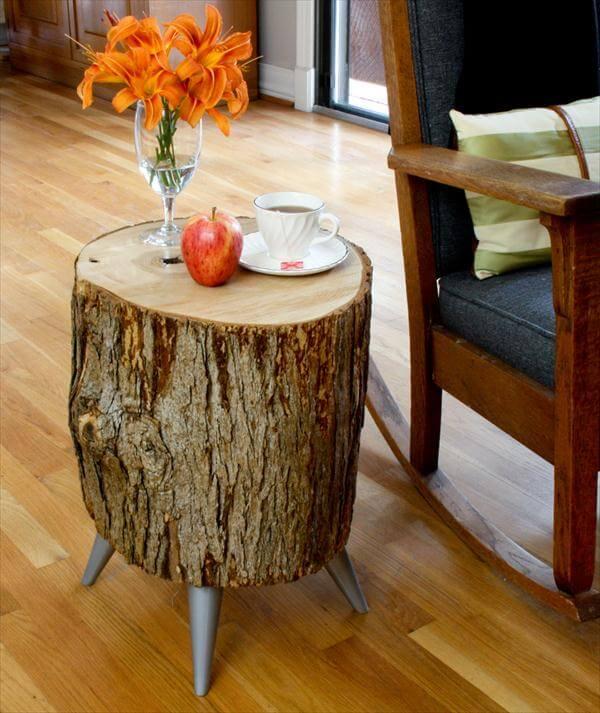7 inspiring diy wood log projects diy