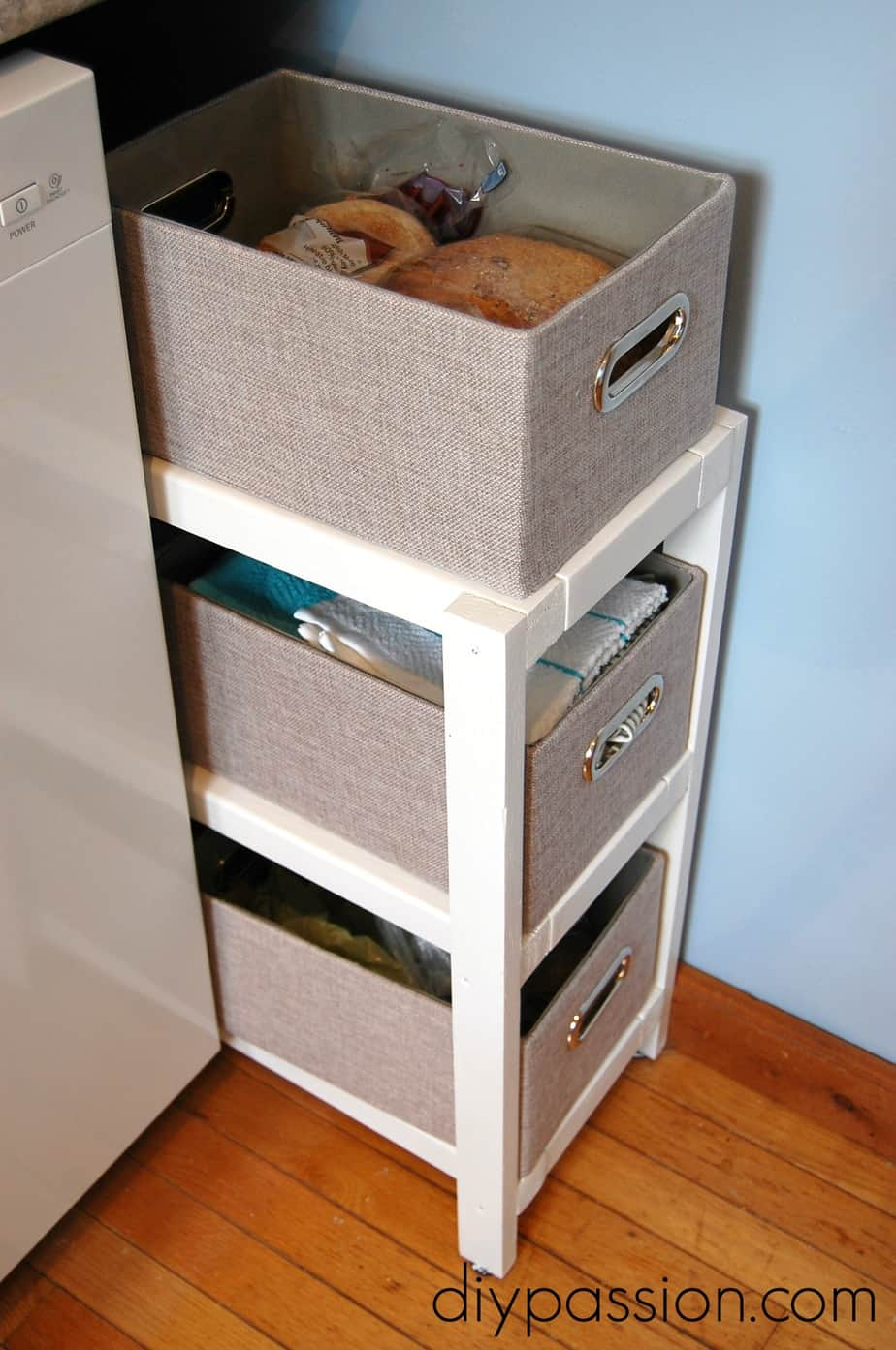 how to organize my kitchen faucet filter system diy basket shelf (or use all the space you ...