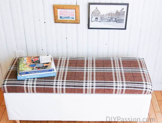 How to update a storage ottoman