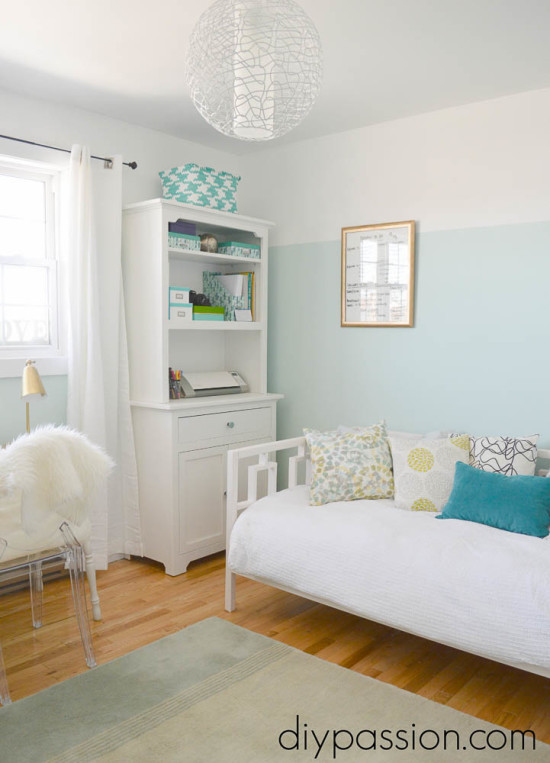 DIY Day Bed in a Home Office