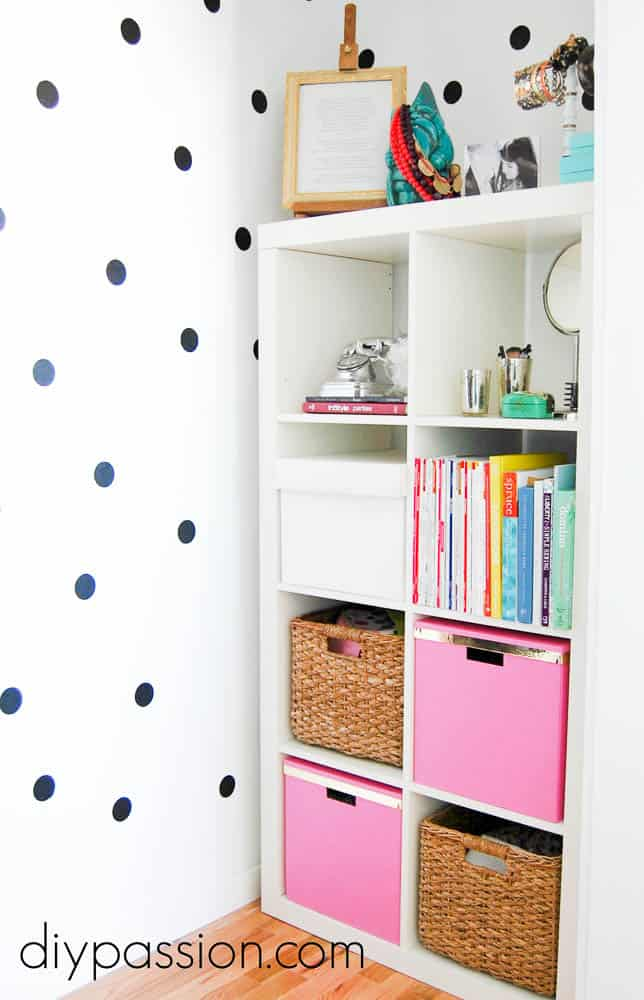 How To Create Chic Kate Spade Inspired Wall Decals Diy