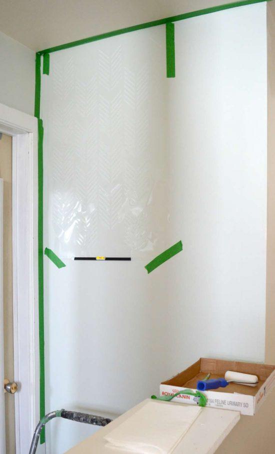 Hallway Stencil 1
