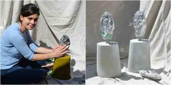 DIY Copper Painted Lamps