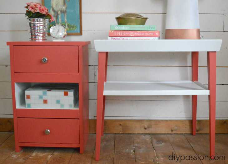 How to Paint an End Table 4