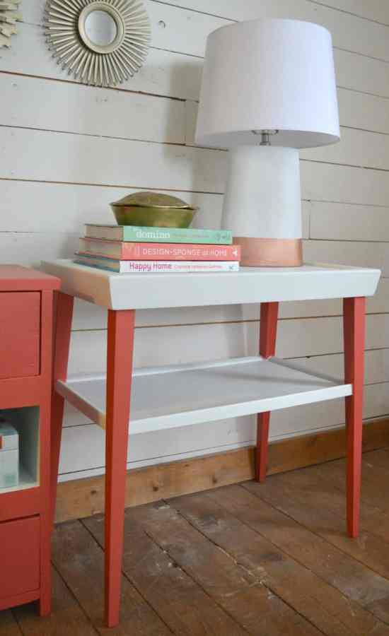 How to Paint an End Table 6