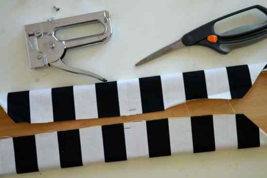Fabric Covered Entry Hooks Staples