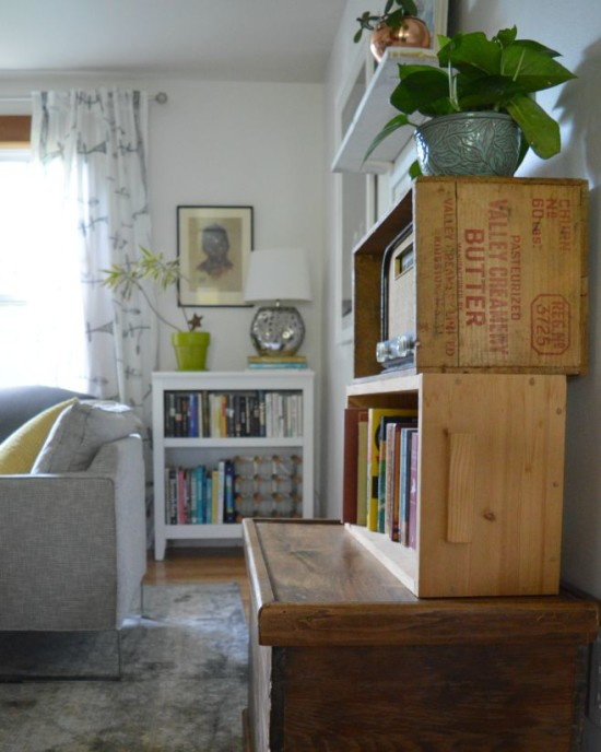 Living Room Refresh Crates