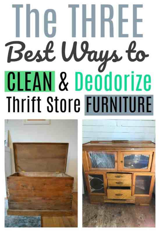 The Three Best Ways to Clean and Deodorize Thrift Store Furniture