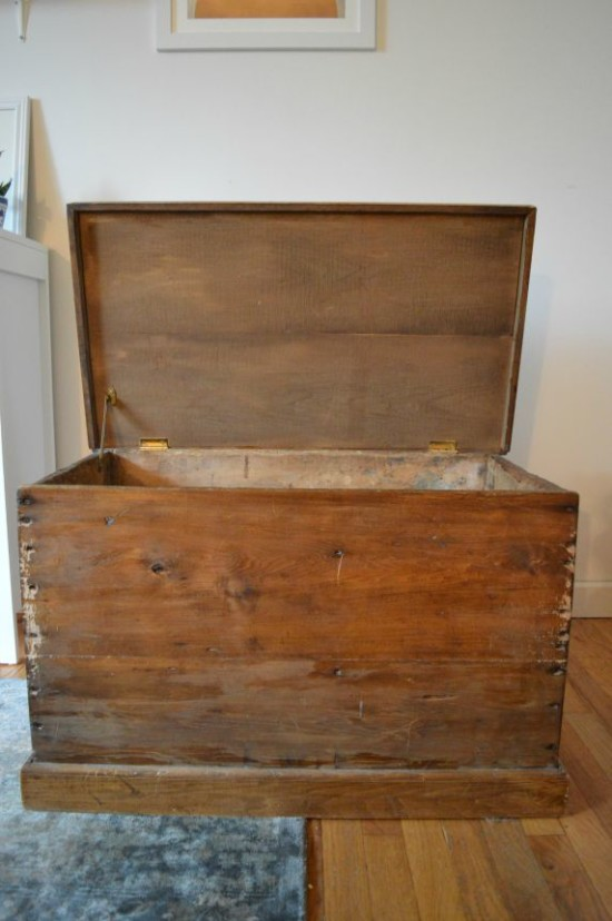 blanket box before