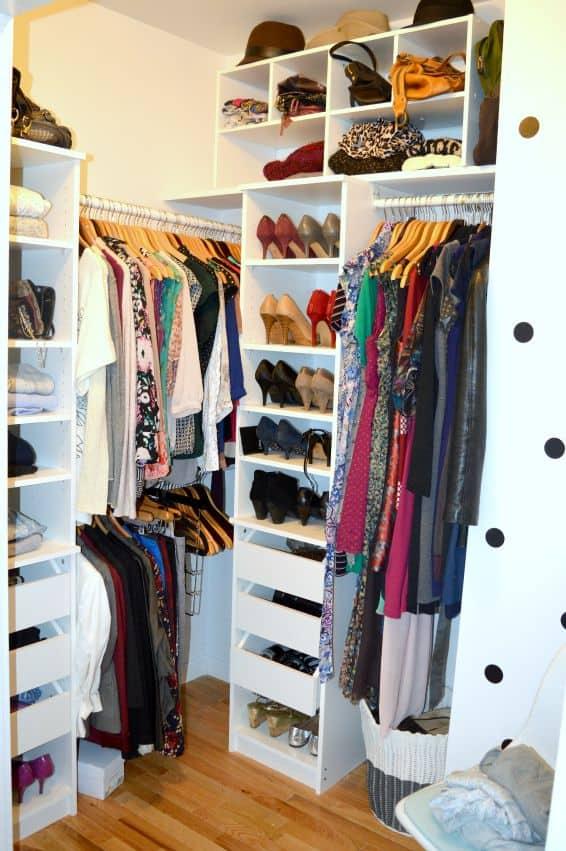 Decluttering The Closet Using The KonMari Method