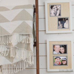 Craft Wood Photo Mats Close Up