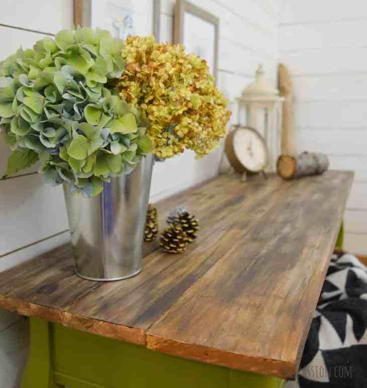 DIY Barnwood Table Top