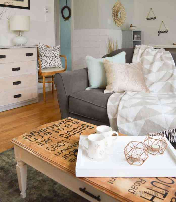 Holiday Decorating with Metallics and Neutrals