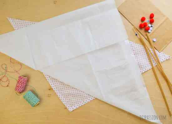 How to make Reindeer Dog Treat Pouches