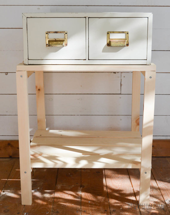 Weathered Card Catalogue needs paint