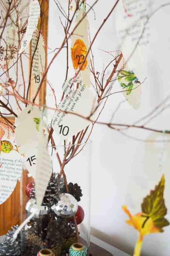 DIY Advent Calendar with Silhouette Cameo