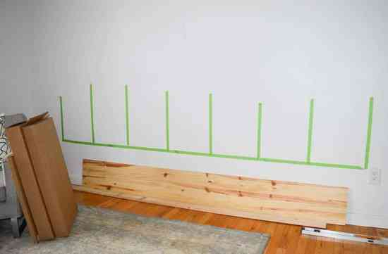 How to hang a wall storage unit