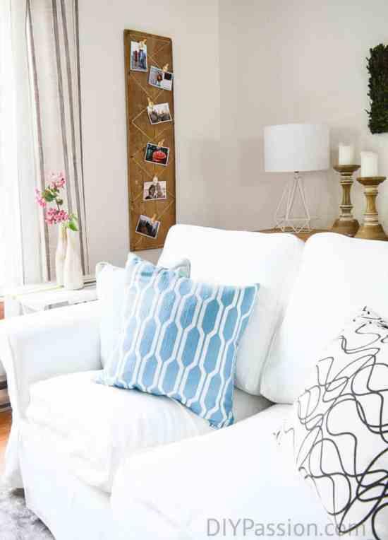 How To Keep A White Slipcovered Sofa Clean