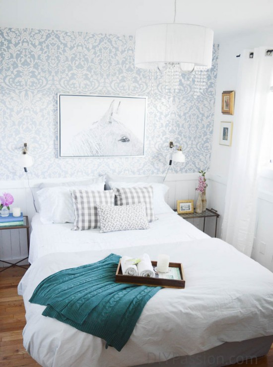 A Fresh and Floral French-Inspired Guest Room