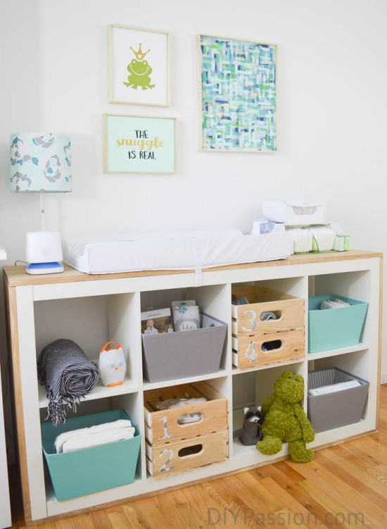 How to repurpose old furniture for a nursery