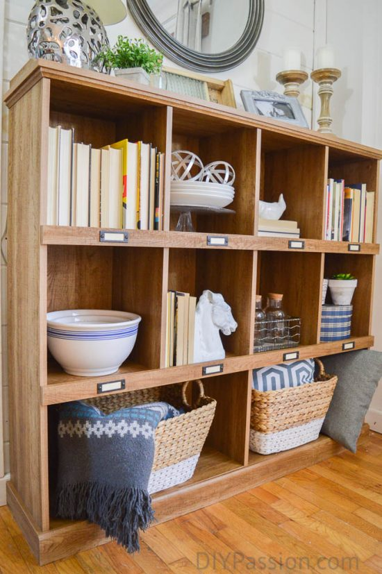 Baskets Books And Ceramics How To Style A