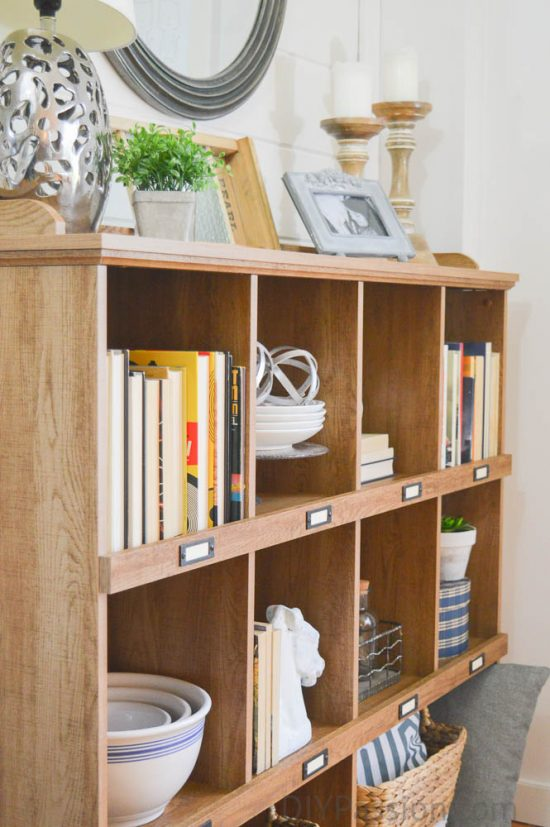 Rustic Shelves With Neutral Farmhouse Decor How To