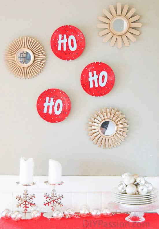 Festive Holiday Plate Art