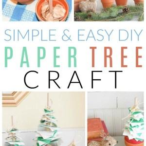diy paper tree craft